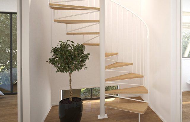 螺旋階段|千葉 内装・リフォーム